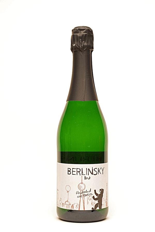 Bild von Berlinsky Sekt brut,  aus Deutschland im Weinkeller Berlin