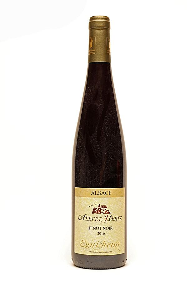 """Bild von Pinot Noir Alsace AC """"Côtes d'Eguisheim"""", 2016 aus Frankreich im Weinkeller Berlin"""