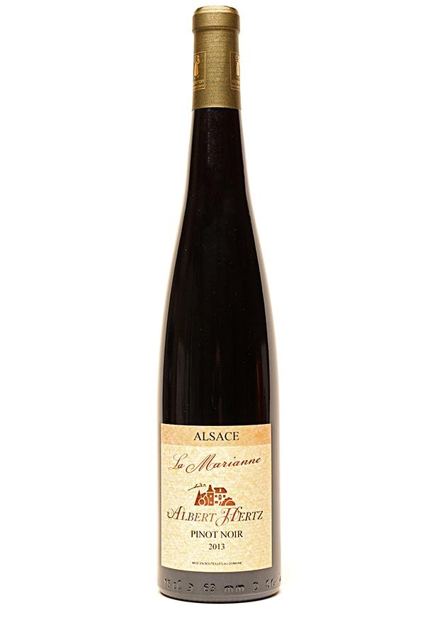 """Bild von Pinot Noir Alsace AC """"La Marianne"""", 2016 aus Frankreich im Weinkeller Berlin"""