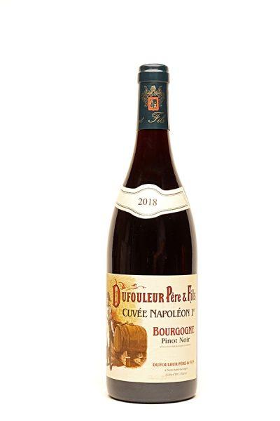 """Bild von Pinot Noir Bourgogne AC """"Cuveé Napoleon"""", 2018 aus Frankreich im Weinkeller Berlin"""