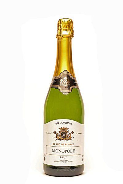 """Bild von """"Monopole"""" Blanc de blancs Vin Mousseux brut,  aus Frankreich im Weinkeller Berlin"""