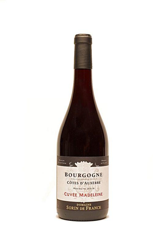 """Bild von Pinot Noir Bourgogne AC """"Cuvée Madeleine"""" Côtes d'Auxerre, 2015 aus Frankreich im Weinkeller Berlin"""