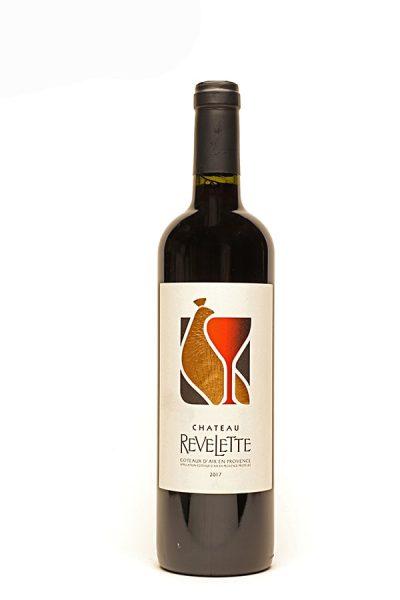 Bild von Château Revelette rouge Coteaux d'Aix-en-Provence AC, 2019 aus Frankreich im Weinkeller Berlin