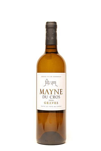 """Bild von """"Mayne du Cros"""" Graves blanc AC, 2016 aus Frankreich im Weinkeller Berlin"""