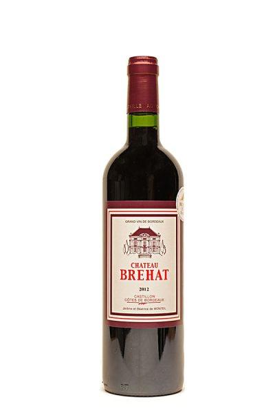 Bild von Château Brehat Castillon Cotes de Bordeaux AC, 2012 aus Frankreich im Weinkeller Berlin