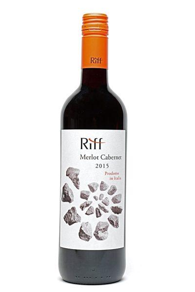 Bild von Riff Rosso Merlot/Cabernet Vigneti Dolomiti IGT, 2015 aus Italien im Weinkeller Berlin