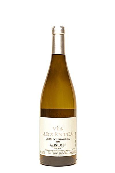 """Bild von Treixadura y Godello """"Vía Arxéntea"""" Monterrei DO, 2019 aus Spanien im Weinkeller Berlin"""