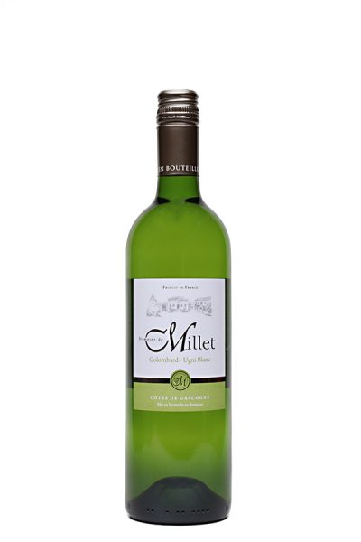 Bild von Domaine de Millet blanc Côtes de Gascogne IGP, 2020 aus Frankreich im Weinkeller Berlin