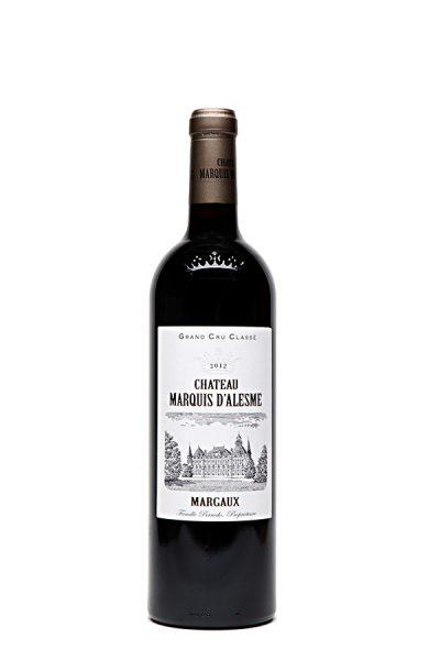Bild von Château Marquis d'Alesme Margaux AC, 2012 aus Frankreich im Weinkeller Berlin