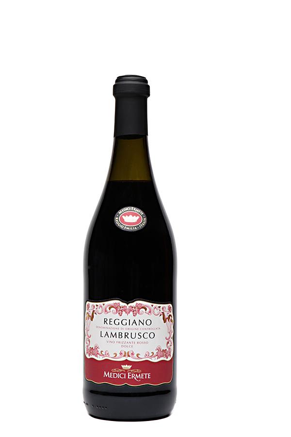 """Bild von Lambrusco """"Medici"""" Reggiano Dolce DOC,  aus Italien im Weinkeller Berlin"""