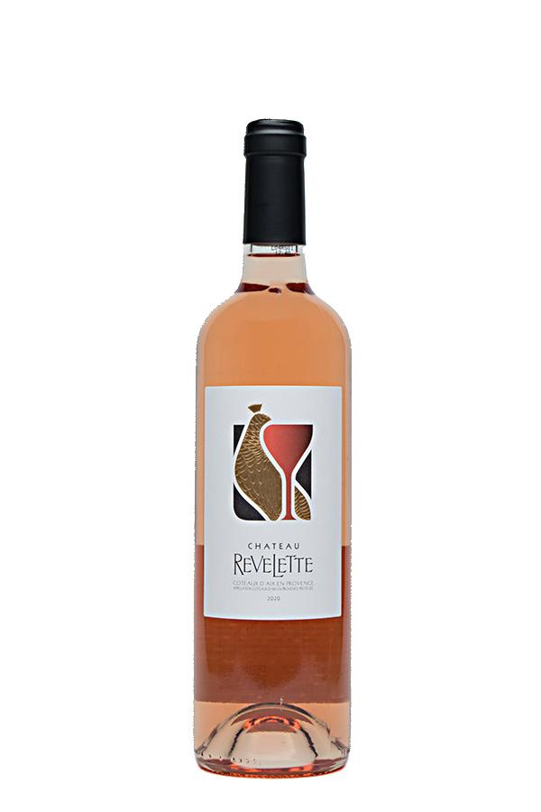 Bild von Château Revelette rosé Coteaux d'Aix-en-Provence AC, 2020 aus Frankreich im Weinkeller Berlin